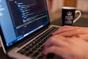 Fingers to keys in coding