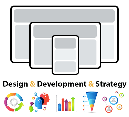 Custom web design and development